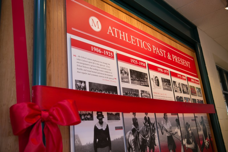 The Madeira School Athletic Hall of Fame Displays