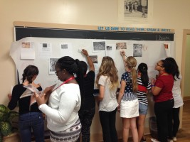 Roots of Civilization Class at The Madeira School, Washington DC area