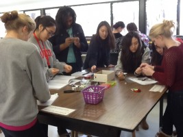 Students design better paper clips